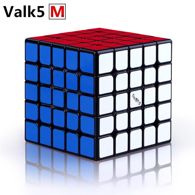 QIYI le Valk5 M magique magnétique vitesse Cube professionnel Valk 5 M aimants 5x5x5 Puzzle Cubes Valk5M jouets éducatifs pour enfants