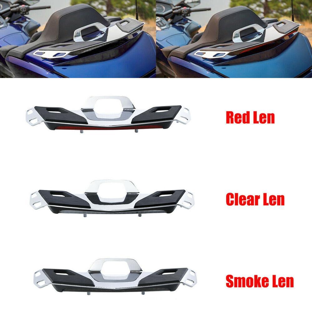 Porte-bagages de coffre de moto + lampe de feu de stop LED pour Honda Goldwing GL1800 2018-2019 GL1800B GL1800D GL1800DA