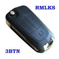 Yedek katlanır araba uzaktan kumandalı anahtar boş Opel Antara için AMPERA için Uncut anahtar Chevrolet Epica 2 3 düğme kabuk Fob