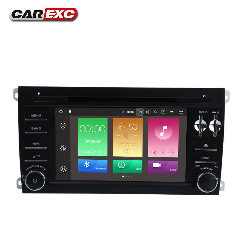Top Android 9.0 Octa Core  Car DVD Player Stereo System For Porsche Cayenne With Canbus Wifi GPS Navigation Radio Carplay 5