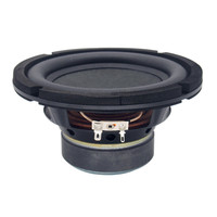 Finlemho Speakers Woofer Subwoofer 6.5 Inch Rubber Surround Long Excursion Voice Coil For DJ Speaker Home Theater Bookshelf