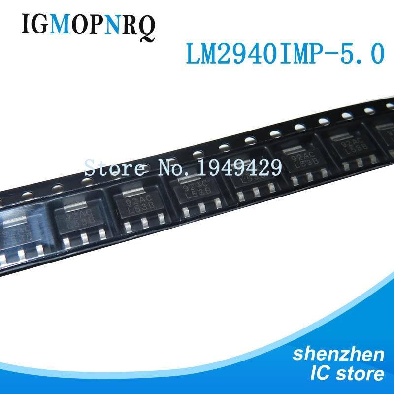 5PCS LM2940IMP-5.0 L53B SOT-223 new