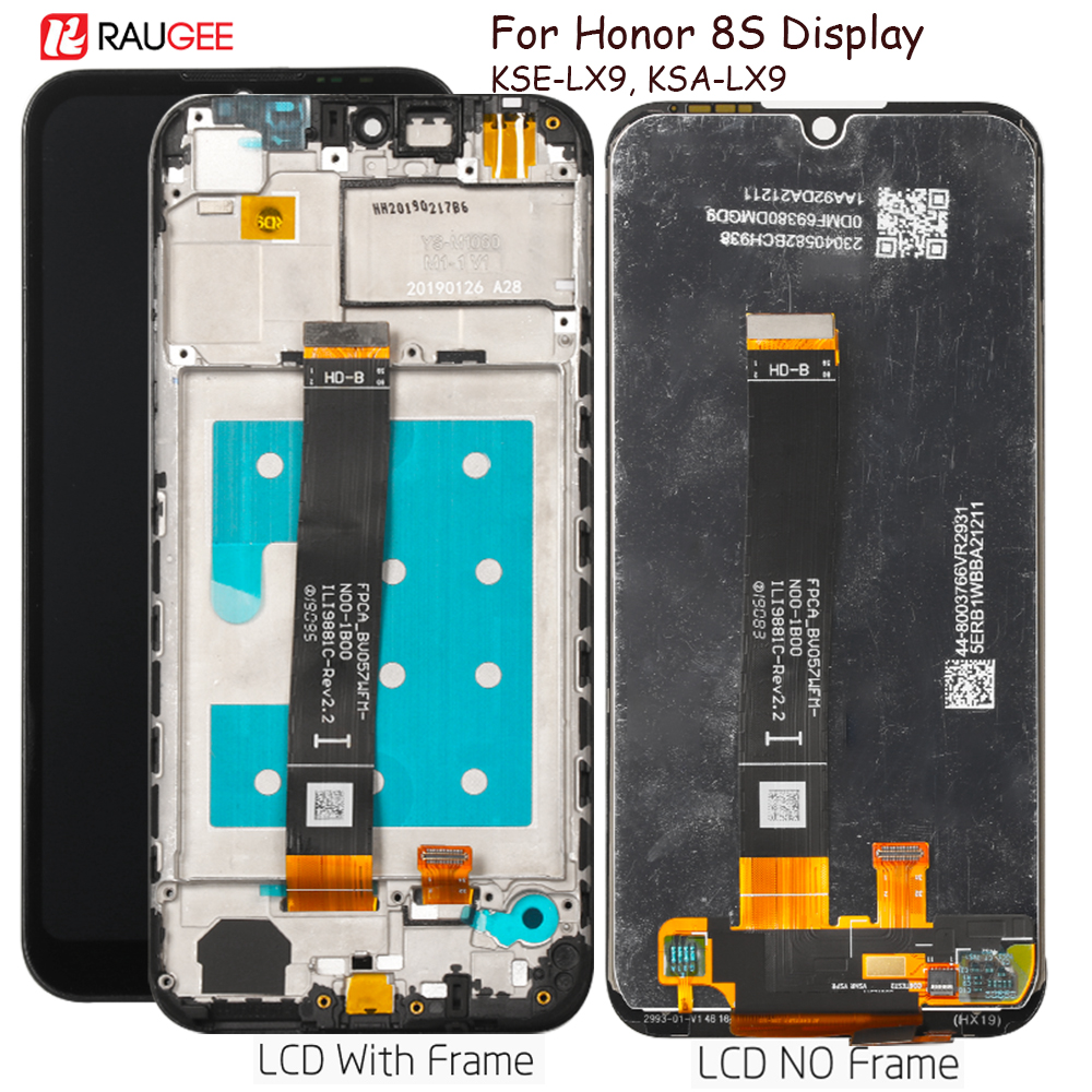 Display For Honor 8s Lcd Display Touch Screen Assembly Replacement For Huawei Honor 8 S KSE-LX9, KSA-LX9 Display Tested Lcd