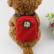 Дышащая шлейка для собак светоотражающий рюкзак домашних животных