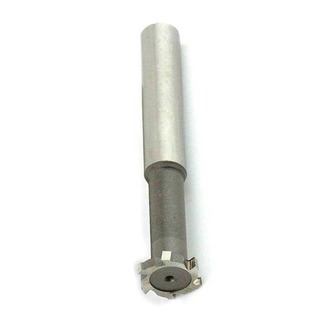 18mm Cutting Diameter 4mm Slot 6 Flute HSS T-Slot cutter shank End mill cutter