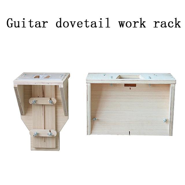 Guitare queue daronde cadre de travail queue daronde moule modèle son baril cou ouvert queue daronde guitare faisant outil moule