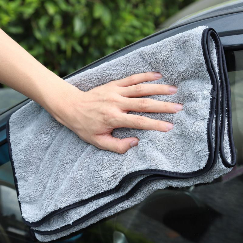 40*60/100cm Microfiber Towel Car Wash Cloth Auto Cleaning Door Window Care Thick Strong Water Absorption For Car Accessories