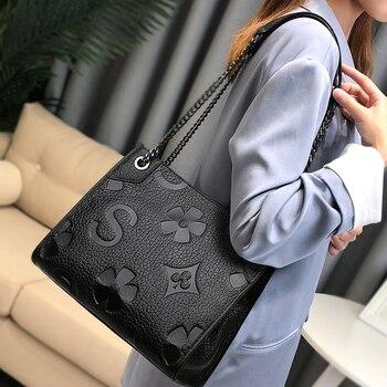 Louis Brand 2020 New High Quality Handbag for Women Fashion Boston Totes Crossbody Bag Female Luxury Designer Chain Shoulder Bag