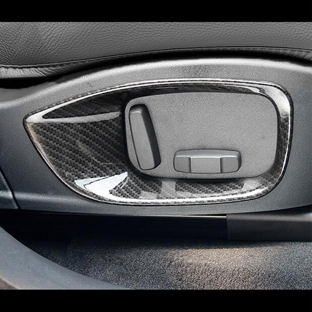 ABS Chrome For Jaguar XF XE XFL F PACE 2016 2017 2018 Accessories Car Hand Parking Brake Panel Cover Trim Car Styling 2Pcs