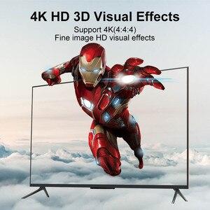 Image 3 - FSU 2,0 HDR 4K @ 60 HDMI divisor Full HD Conmutación de vídeo HDMI Switcher 1X2 Split 1 in 2 Out amplificador pantalla Dual para HDTV DVD PS3