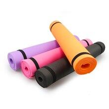 Экологически чистый толстый нескользящий коврик для йоги, спортивный тренажерный зал, мягкие коврики для пилатеса, складные для бодибилдин...