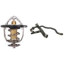 2 Pcs Car Accessories: 1 Pcs Engine Coolant Thermostat 90916-03136 & 1 Pcs Car Passenger Right Radiator Coolant Hose