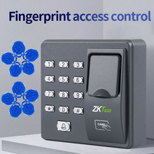 ZKTECO X6  Fingerprint access control  RFID Password Access Control Access Controller With 10 Keyfobs