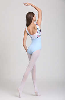 Pink Printing Ballet Dance Leotards Women 2020 New Arrival Summer Gymnastics Dancing Costume Adult High Quality Ballet Leotard