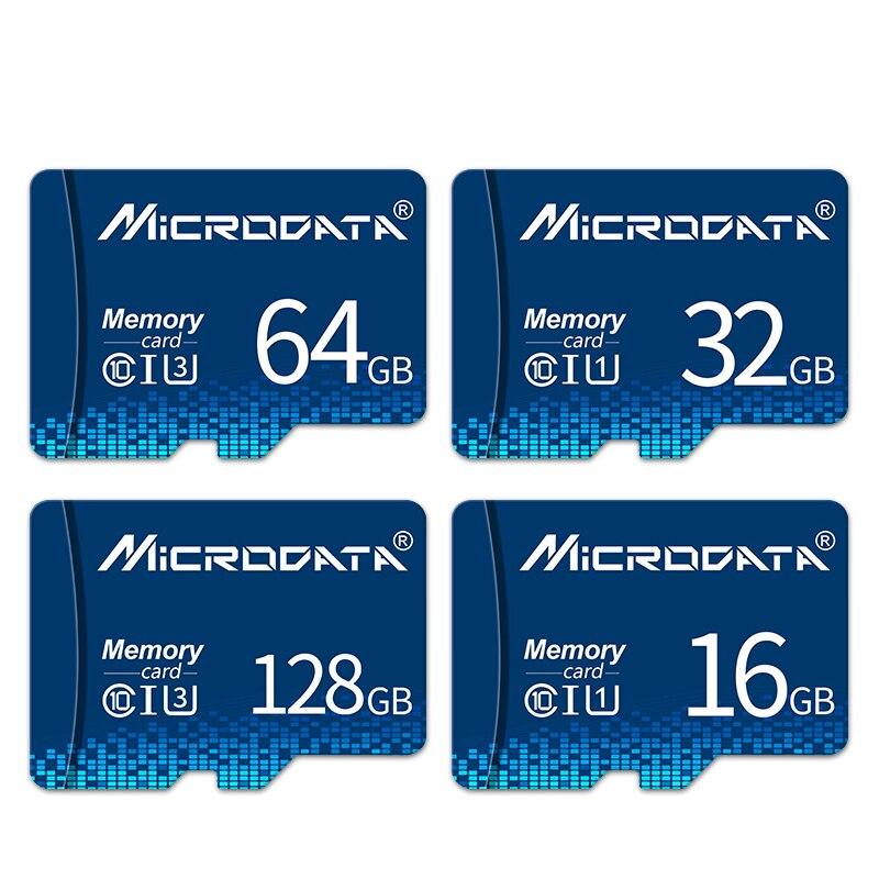 Cartão novo 32 gb do tf do cartão de memória da movimentação do flash de 10 128gb para câmeras do smartphone cartão novo 4gb 8gb 16gb 32 gb 64gb UHS-1 gb