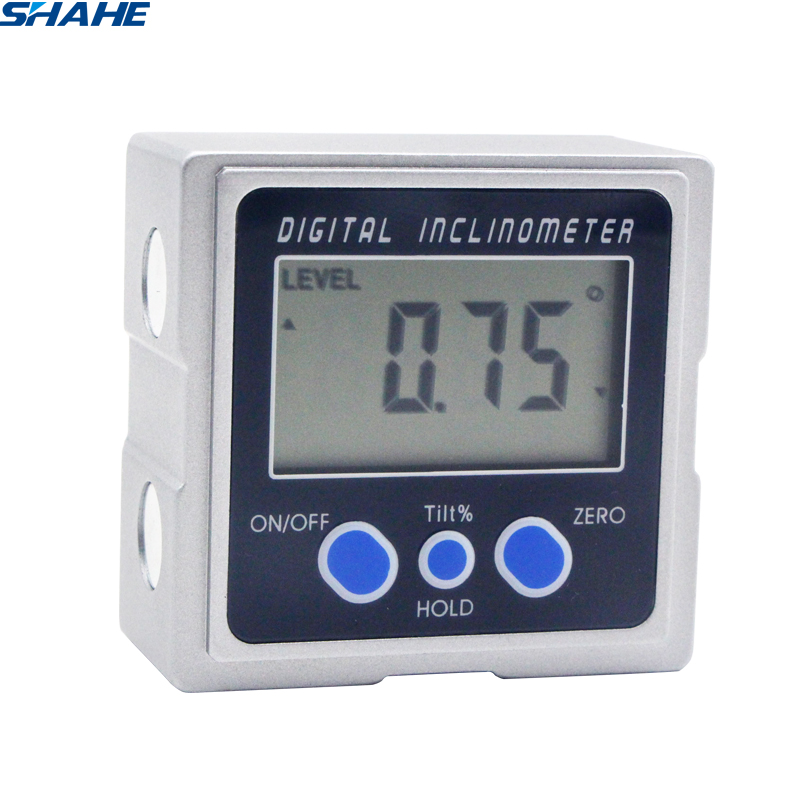Digital Protractor Angle Level Box With Three Magnets Base PRO 360  Electronic Protractor Digital Inclinometer