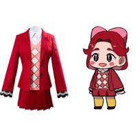 Game Animal Cosplay Crossing Celeste Cosplay Costume Women Shirt Vest Coat Skirt Full Set Party Fancy Dress