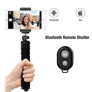 Image 2 - Tripé com bluetooth e controle remoto para celular, tripé para celular, tripé para câmera, suporte para selfie, liberação do obturador