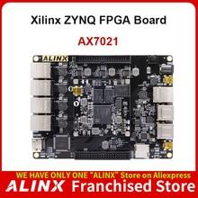 ALINX AX7021: XILINX Zynq-7000 SoC XC7Z020 ARM 7020 SoMs FPGA Board Multiple Gigabit Ethernet