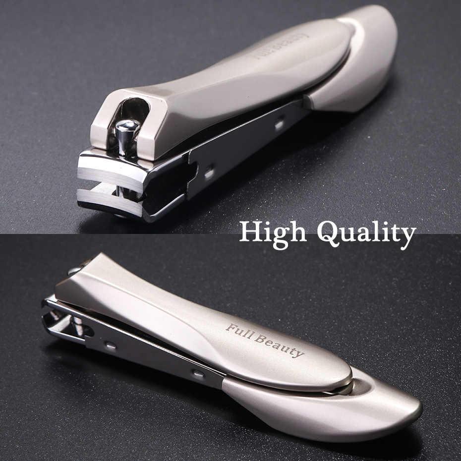 1 adet paslanmaz çelik profesyonel tırnak makası sökücü ölü cilt düzeltici kesici manikür ayak tırnağı bakım tırnak sanat araçları LYA01B-03B
