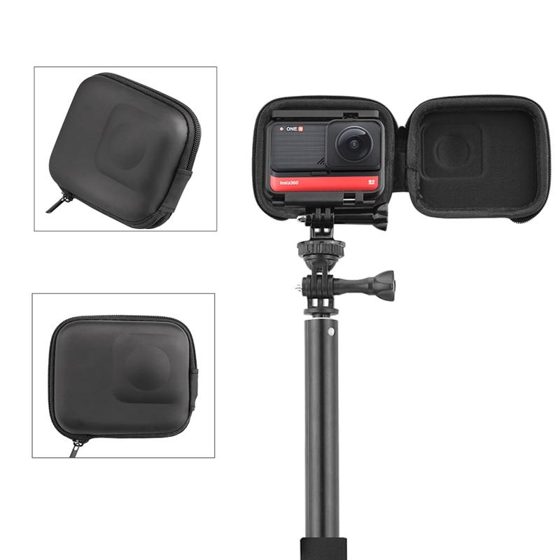 Mini Camera Case Portable Protective Case Storage Bag for Insta360 ONE R 4K Edition Camera Accessories
