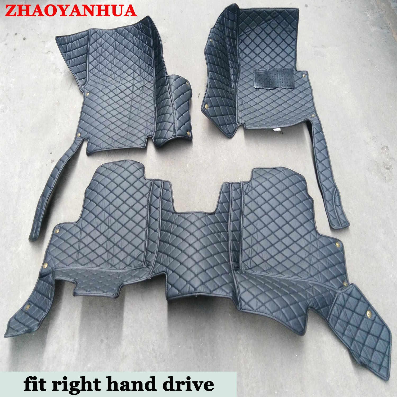 Tangan Kanan Drive Custom Fit Lantai Mobil Tikar untuk Volvo C30 S60L S80L V40 V60 XC60 XC90 5D Tugas Berat karpet Lantai Liner