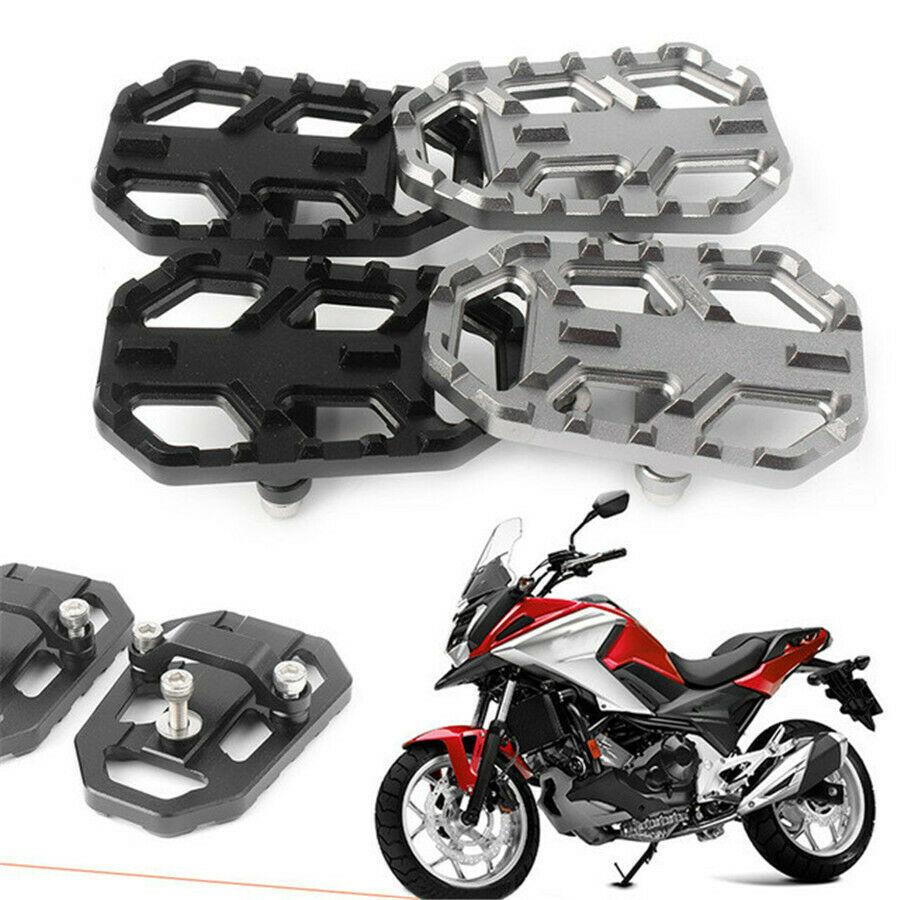 Hot Aluminum Motorbike Foot Pegs Footpegs Footrests Fit For Honda NC700X NC700S NC750X NC750S 2012-2019&CB500X 2015 2016 CNC CSV