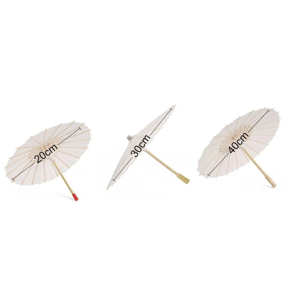 Лидер продаж, китайский винтажный бумажный зонтик DIY для свадьбы/декорации, фотосессии, зонтик для танцев, реквизит, бумажный зонтик с маслом - Цвет: 20cm