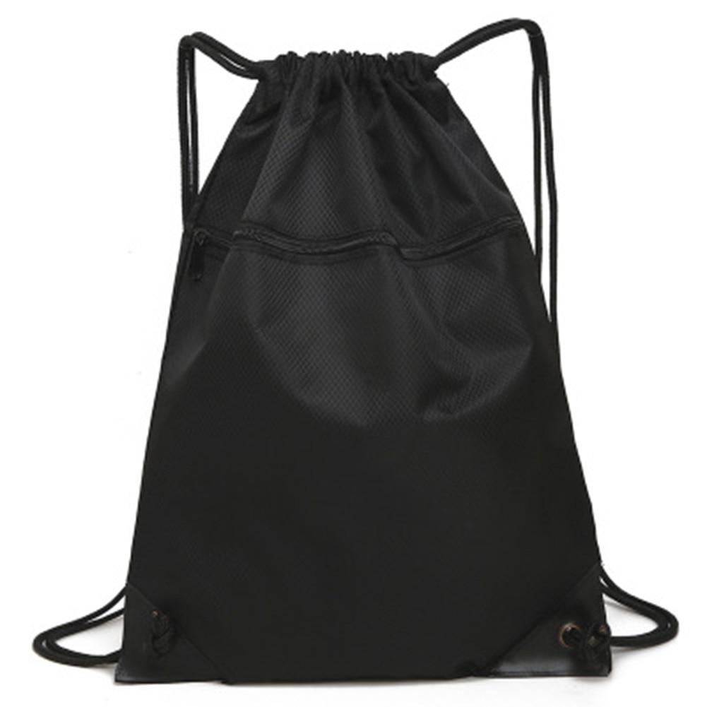 Unisex Simple Drawstring Bag Sports Backpack New Fashion Men Women Fitness Training Travel Lightweight Backpack Bag
