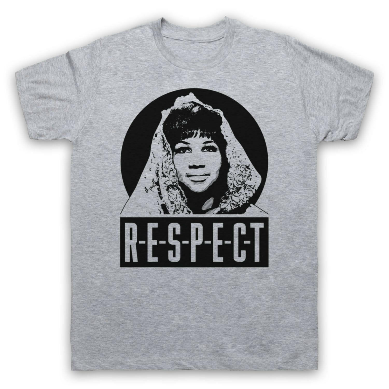 Aretha Franklin T Shirt; Aretha Franklin Respect Tee Shirt