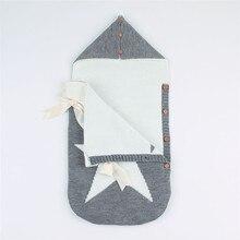 Осенне-зимний теплый детский спальный мешок для коляски, мягкий спальный мешок для ребенка, детский slaapzak, sac couchage naissance J6