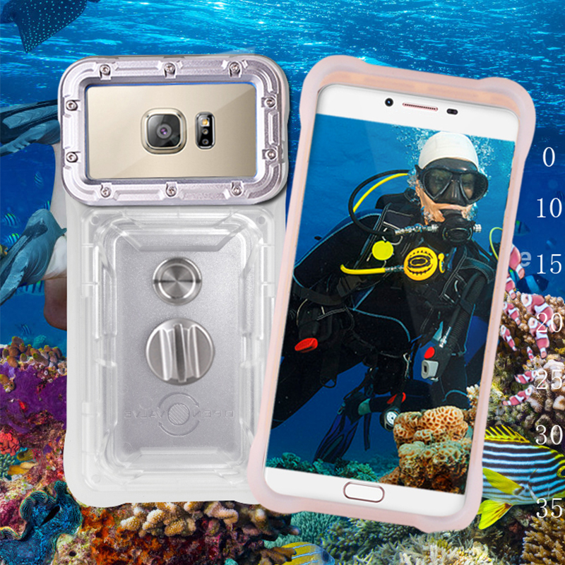 Универсальный Водонепроницаемый Чехол для Motorola Moto G6 Play G5S G5 G4 G3 Plus G7 power EU чехол для подводной фотографии чехол для телефона