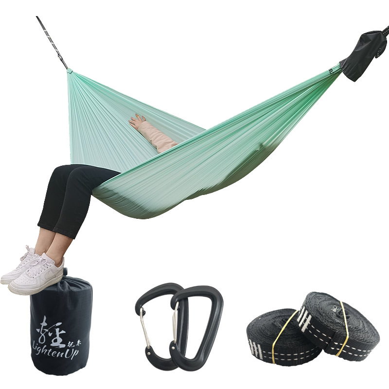 Outdoor King Size Camping Hammock Parachute Double Portable Couple Nylon Hamak Travel Hunting Survival