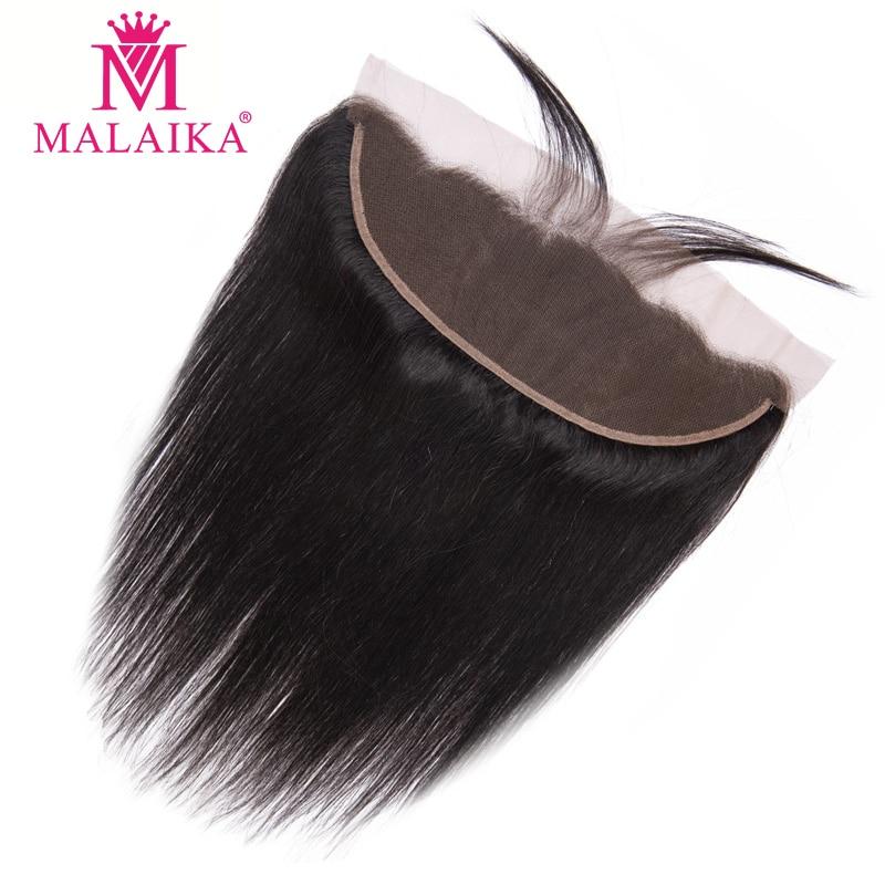 Прямые 100% человеческие волосы Malaika, 13x4, на шнуровке, Фронтальная застежка, предварительно выщипанные с ребенком волосы, перуанские волосы Remy...