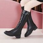 Women Boot High Heel...