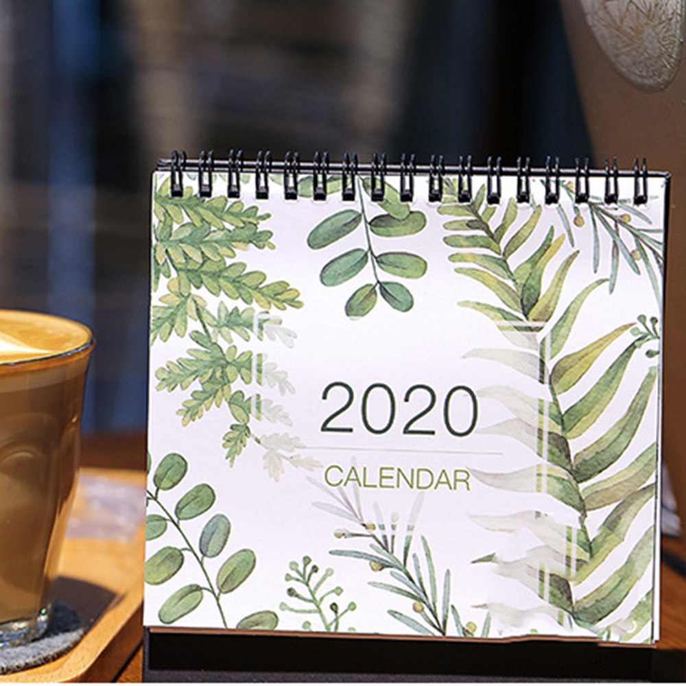 1PC New 2020 Calendar Yearly Agenda 365 Days Daily Planner To Do List Tearable Wall Calendar For Planner Decoration Gift