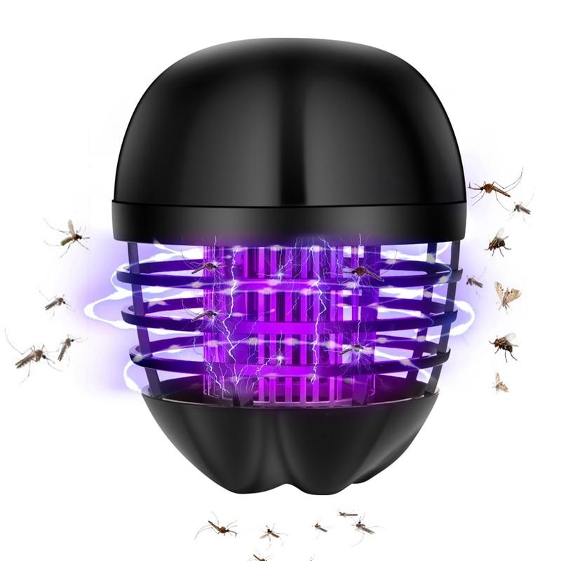 ABUI-Led Mosquito Killer 360° All-Round No-Angle Lighting Mosquito Killer Mosquito Killer Lamp Led Anti Us Plug