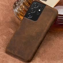 De PULL-UP caja de teléfono de cuero para Samsung Galaxy S21 Ultra S20 FE S8 S9 S10 S21 Plus Nota 20 10 A52 A51 A71 A31 A50 A72 M31 A52 5G A 52 2021 A 72 A 51 Note 10 Plus Note 20 Ultra S20 Ultra S10 S21 Plus Cover