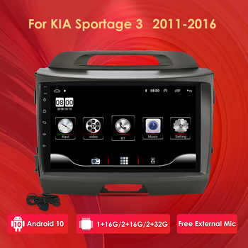 for KIA Sportage 2010 2011 2012 2013 2014 2015 2016 2Din Car Android Radio Multimedia Player 2 Din Autoradio Video GPS Navi WiFi image
