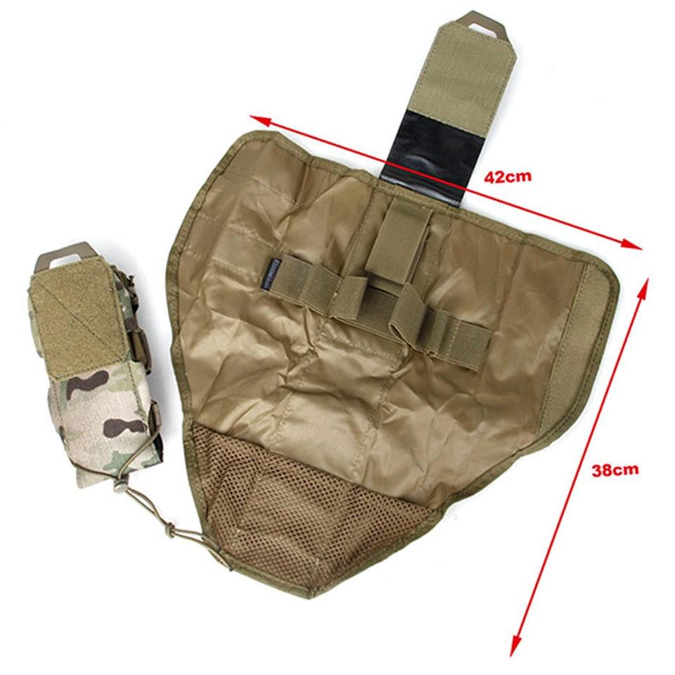 TMC3355-MC tático colete acessório saco médica sundry