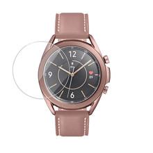 Szkło hartowane do Samsung Galaxy Watch 3 45MM powłoka odporna na olej szkło hartowane folia ochronna przezroczysta tanie tanio VOBERRY Brak Na nadgarstku Wszystko kompatybilny 128 MB Passometer english Nie Wodoodporne 180-220 mAh For Samsung Galaxy Watch 3 45MM