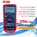 UNI-T Авто Диапазон Цифровой мультиметр тестер RMS пиковое значение RS232 REL AC DC Amperemeter UT61A/B/C/D/E True RMS