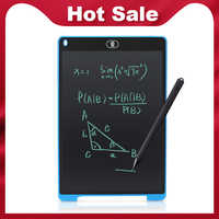 Crianças desenho tablet digital gráficos tablet lcd escrita tablet 12 Polegada eletrônico portátil placa de desenho almofada de escrita