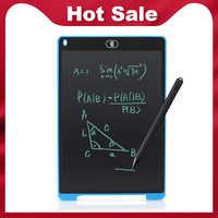 Enfants dessin tablette graphique numérique tablette LCD écriture tablette 12 pouces électronique bloc-notes Portable planche à dessin bloc-notes