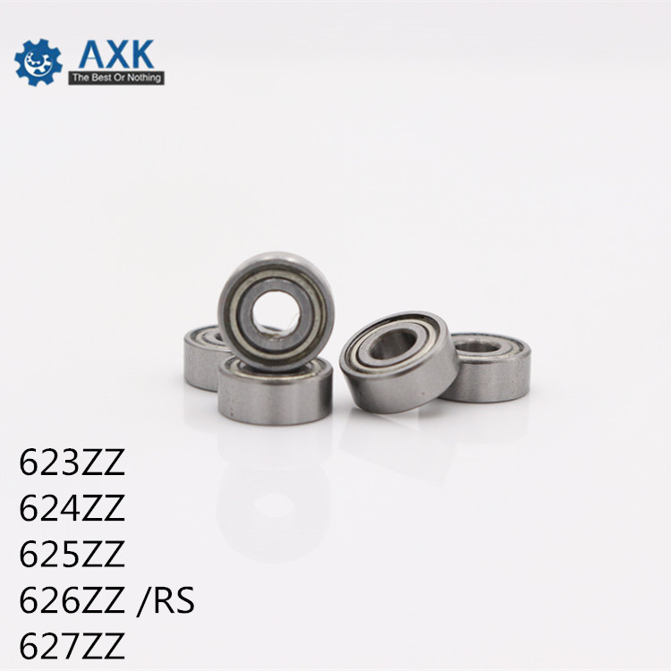 623ZZ 624ZZ 625ZZ 626ZZ 626 <font><b>RS</b></font> 627ZZ ABEC-5 (100PCS) 3x10x4MM Miniature Ball <font><b>Bearings</b></font> 623ZZ EMQ Z3V3 <font><b>625</b></font> 2RS 626 2RS image