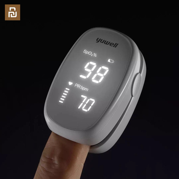 Finger clip oximeter YX102 blood oxygen saturation detector pulse monitor upgrade chip portable for xiaomi youpin