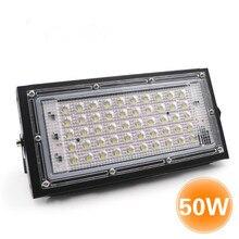 Светодиодный литой светильник переменного тока 220-240V 50W Светодиодный чип на открытом воздухе Алюминий тела строительной площадке Высокое качество Простая установка 105*210 мм потолочные светильник