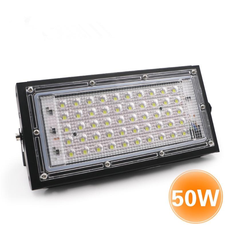 LED Cast Light AC 220-240V 50W LED Chip Outdoor Aluminum Body Construction Site High Quality Easy Install 105*210mm Floodlight