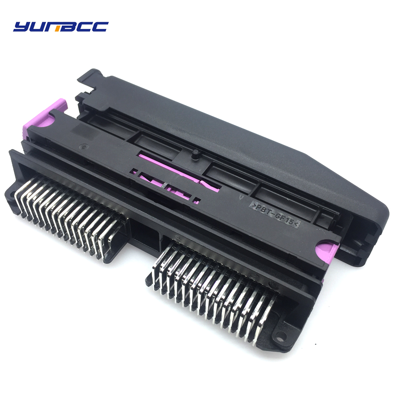 1set 56pins FCI Auto male and female connector with shell pin ECU connectors accessories
