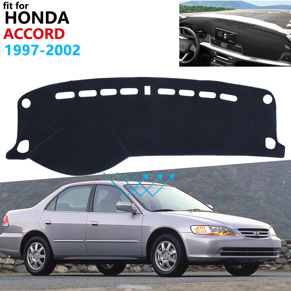 Dashboard Cover Protective Pad For Honda Accord 1997 1998 1999 2000 2001 2002 6 Car Accessories Dash Board Sunshade Carpet Rug